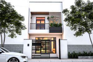 Thiết kế nhà 2 tầng - 001